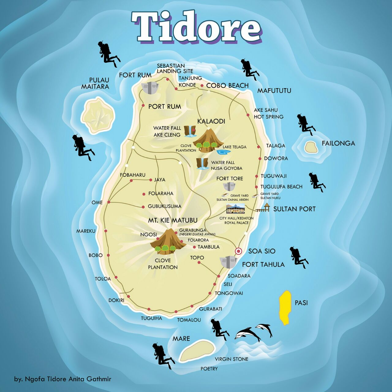 BLOGGER GATHERING - Lomba Menulis Blog Tentang Tidore
