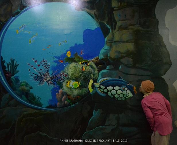 Foto Seru2an di DMZ 3D TRICK ART BALI