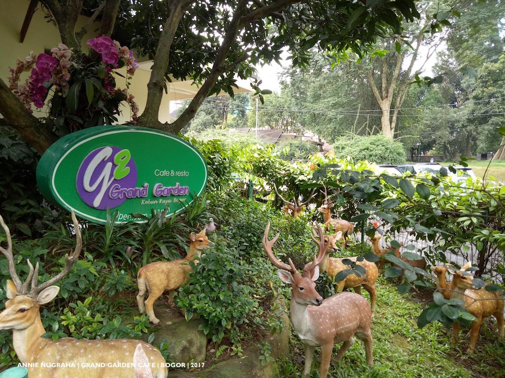 Bermain Dengan Lautan Hijau Di Grand Garden Resto Cafe Kebun Raya Bogor Annie Nugraha