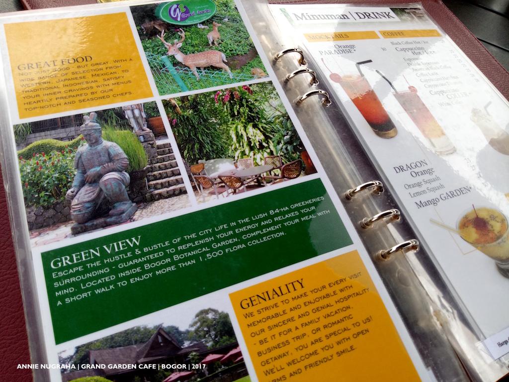 Bermain dengan Lautan Hijau di GRAND GARDEN RESTO & CAFE Kebun Raya Bogor
