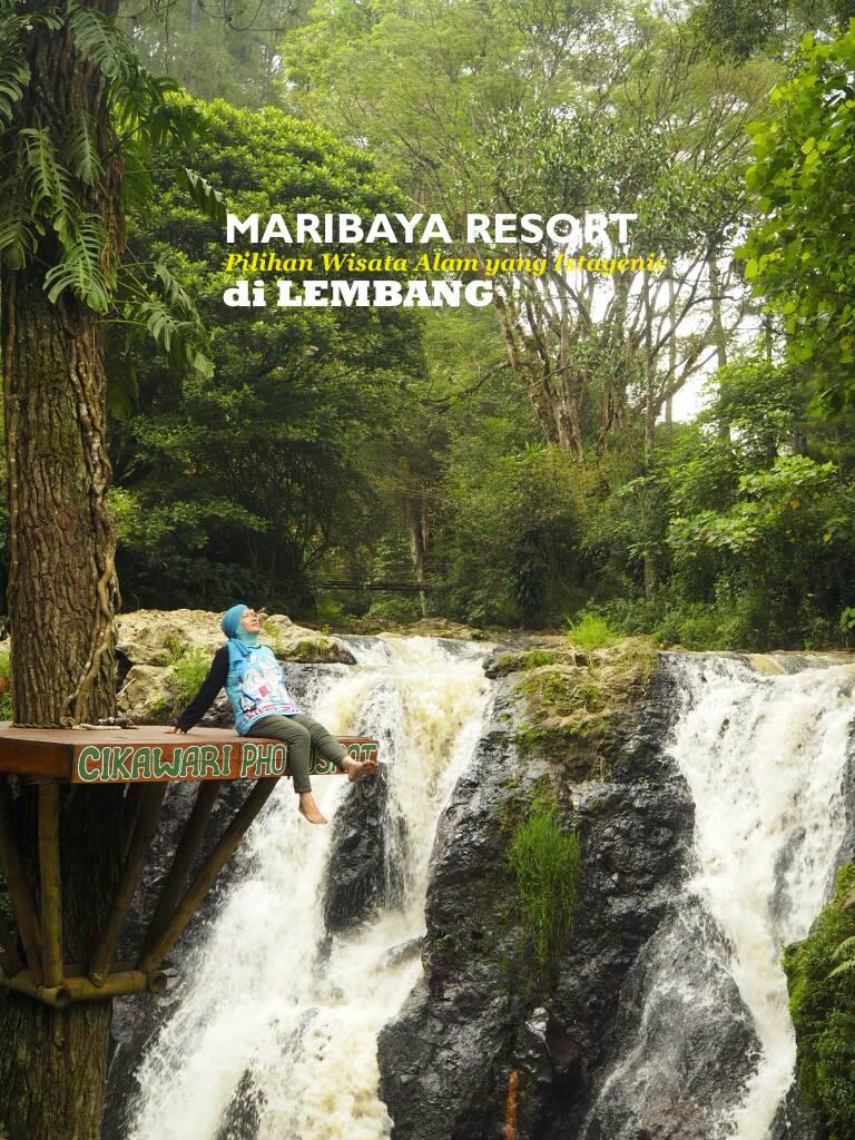 MARIBAYA RESORT  Pilihan Wisata Alam yang Istagenic di LEMBANG