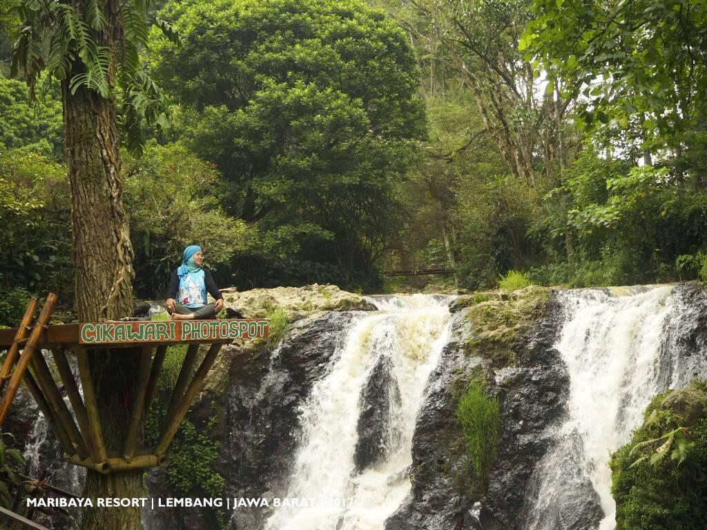 MARIBAYA RESORT | Pilihan Wisata Alam yang Istagenic di LEMBANG