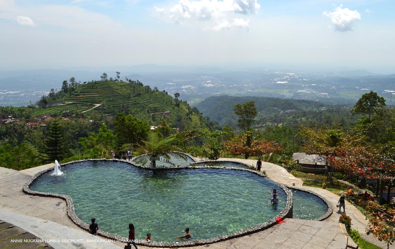 UMBUL SIDOMUKTI. Wisata Alam di Lereng Gunung Ungaran, Semarang, Jawa Tengah