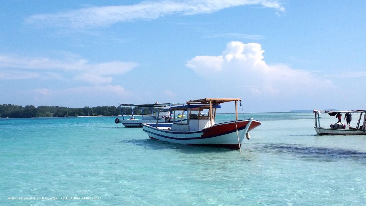 Kepulauan SERIBU.  Surga Wisata Bahari di Teluk Jakarta