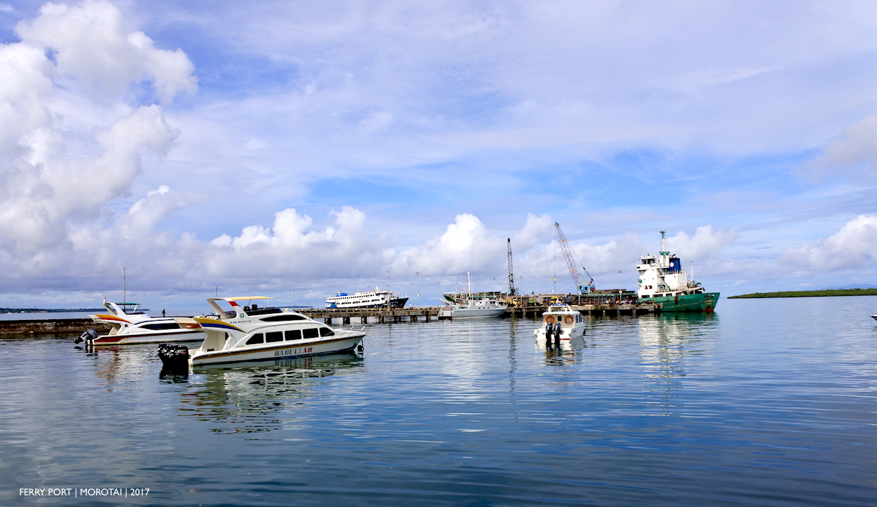 DARUBA | Kota Kecil | Kaya Wisata di Morotai