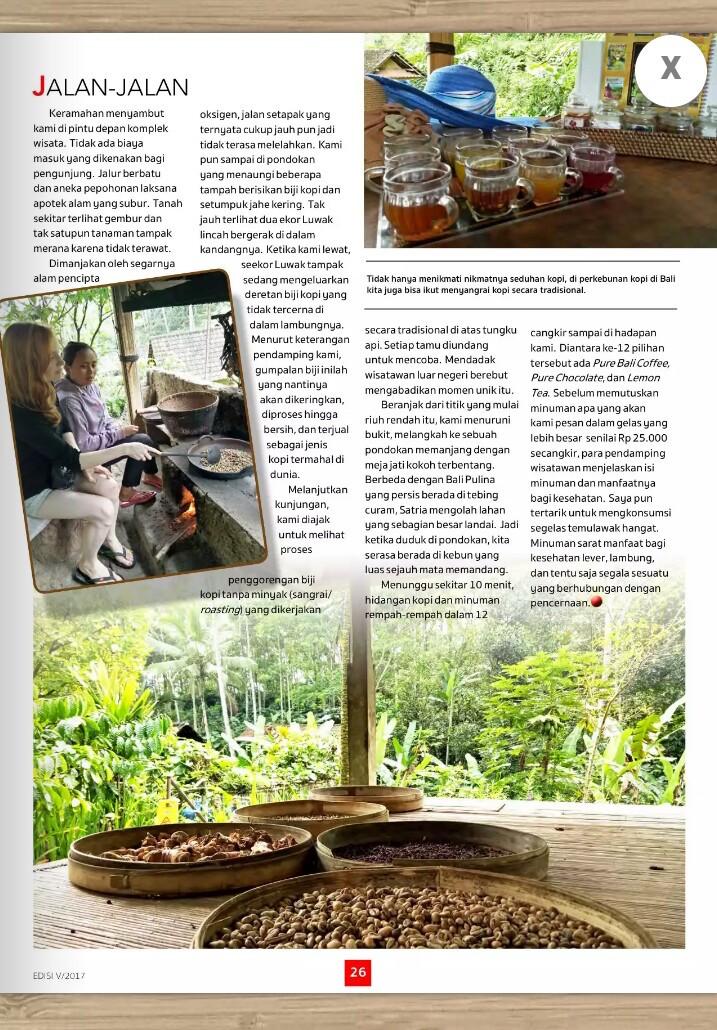 BALI Agrotourism untuk On Line Magazine | www.magazine.aviantara.net
