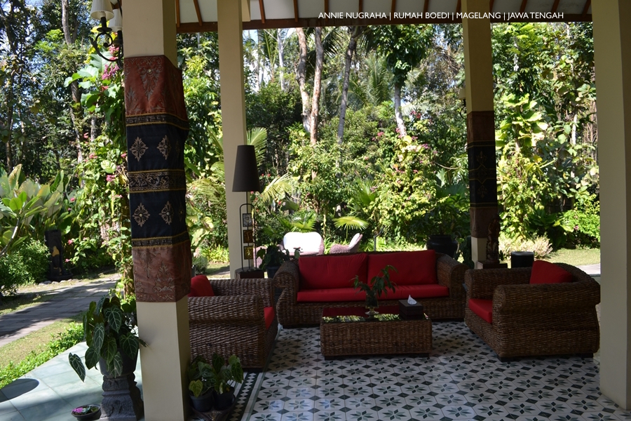 RUMAH BOEDI | Hunian Private dengan Sentuhan Budaya Jawa di MAGELANG