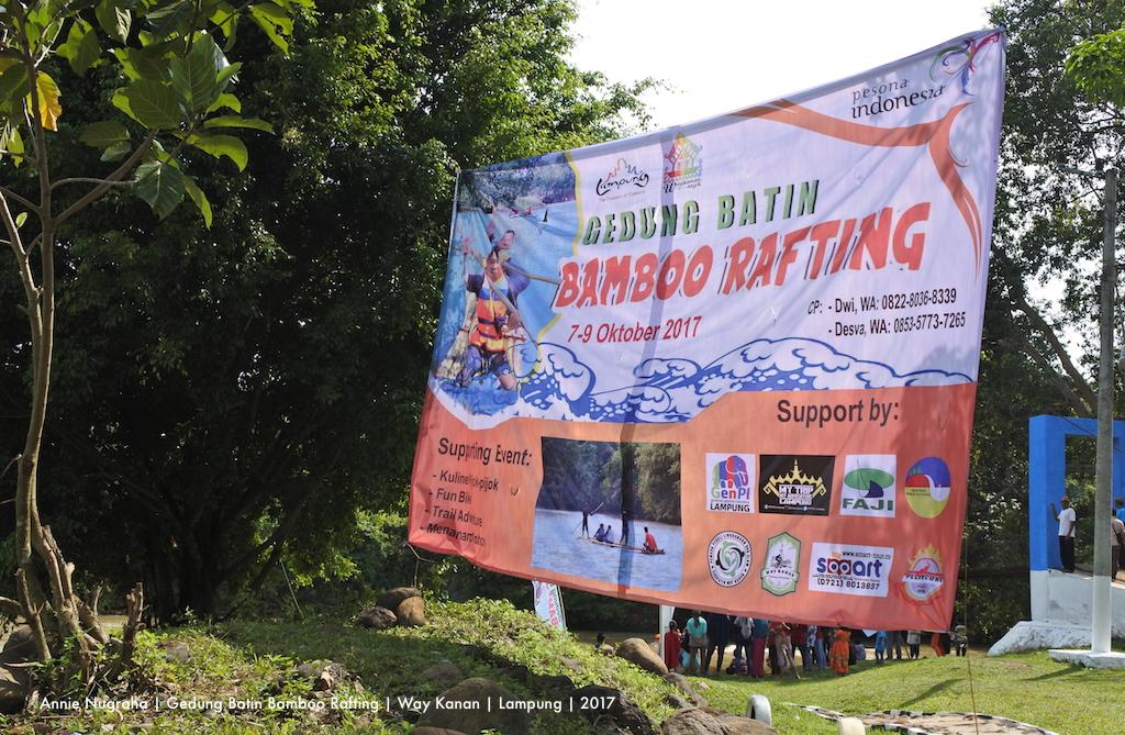 GEDUNG BATIN | Ketika Rangkaian Perubahan Membawa Timbunan Kebaikan | Bagian 2 | Gedung Batin Bamboo Rafting 2017