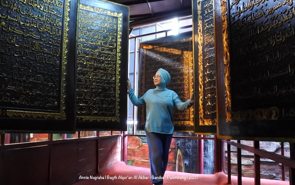 BAYT AL QUR'AN AL AKBAR. Menyentuh Qalbu di Museum Al Qur'an Raksasa di Palembang