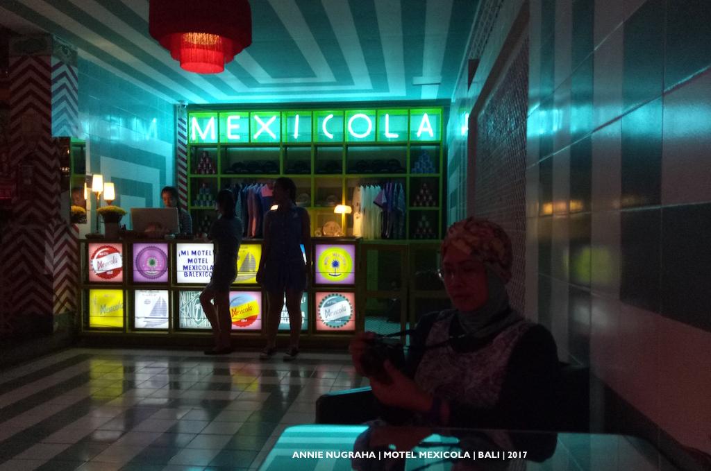 MOTEL MEXICOLA | Tempat Nongkrong Kaya Warna ala Mexico | Seminyak | BALI