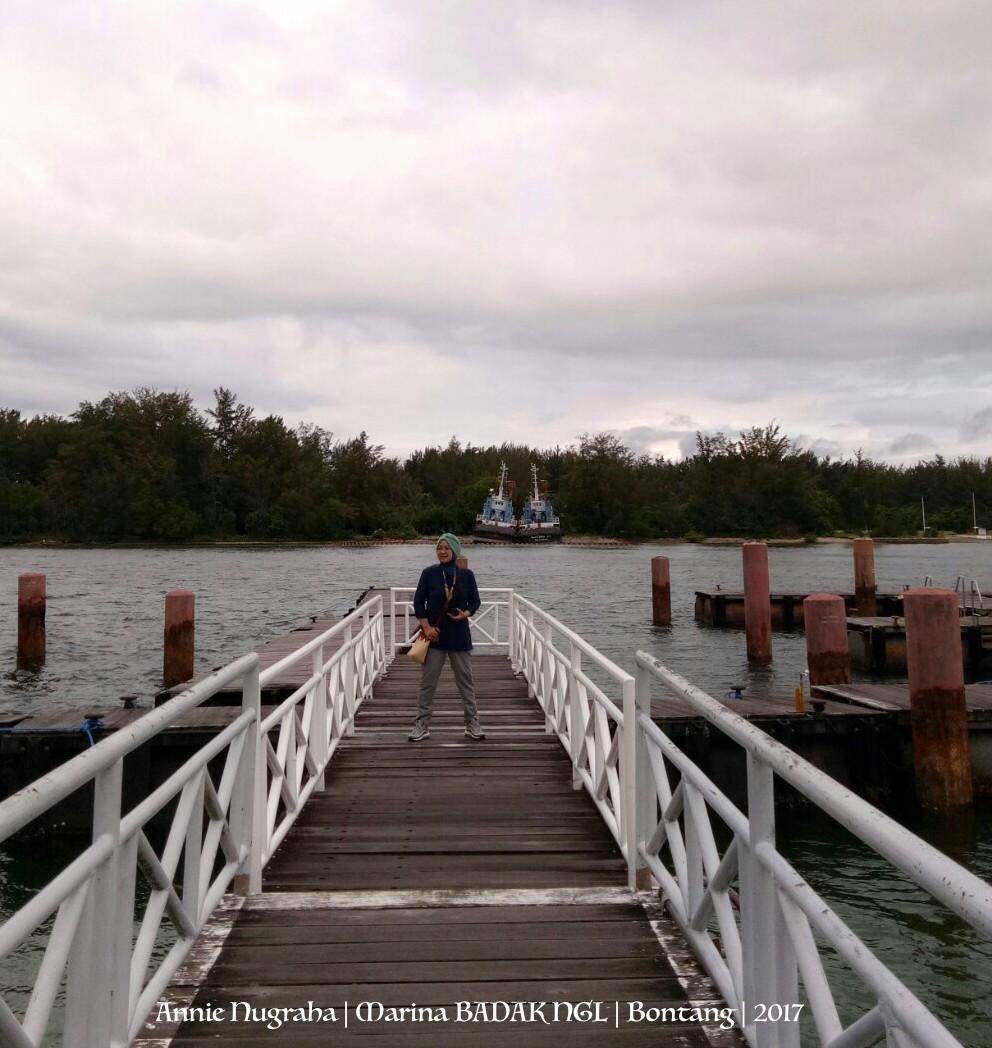 Marina/Dermaga Cantik dan Terawat Milik PT. BADAK NGL | Bontang | Kalimantan Timur