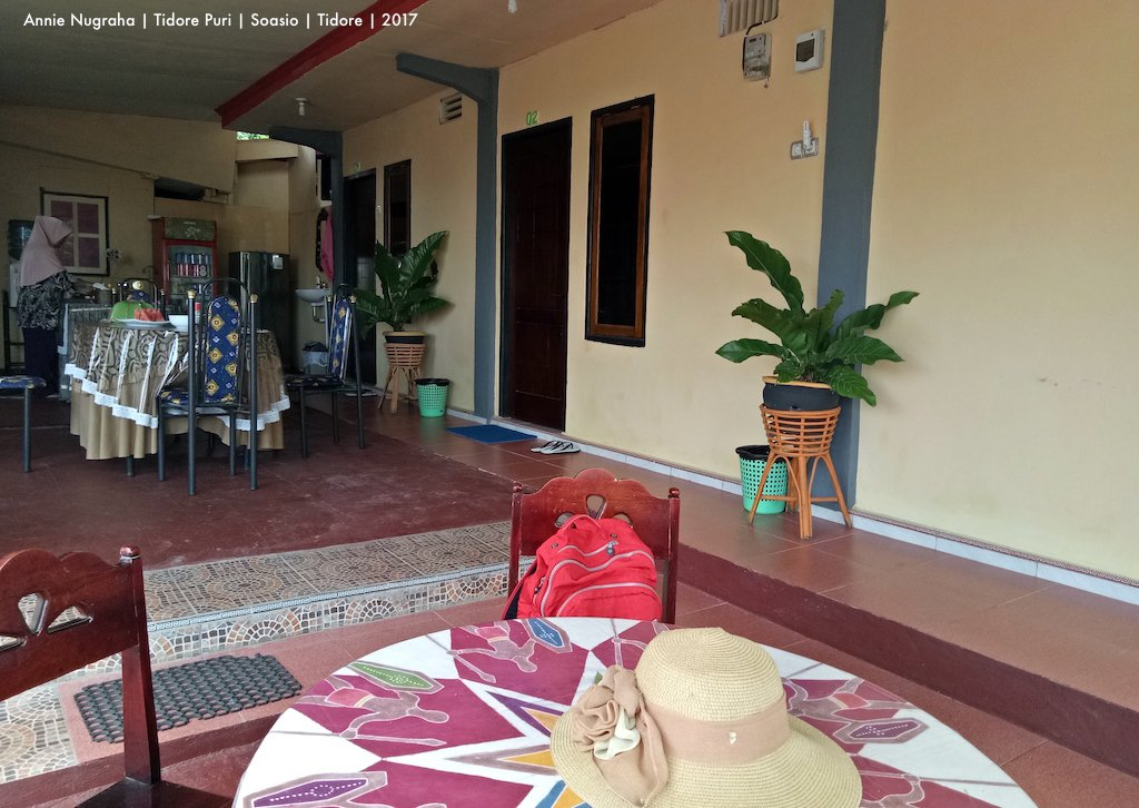 TIDORE PURI | Penginapan Bersahaja di Soa Sio | TIDORE
