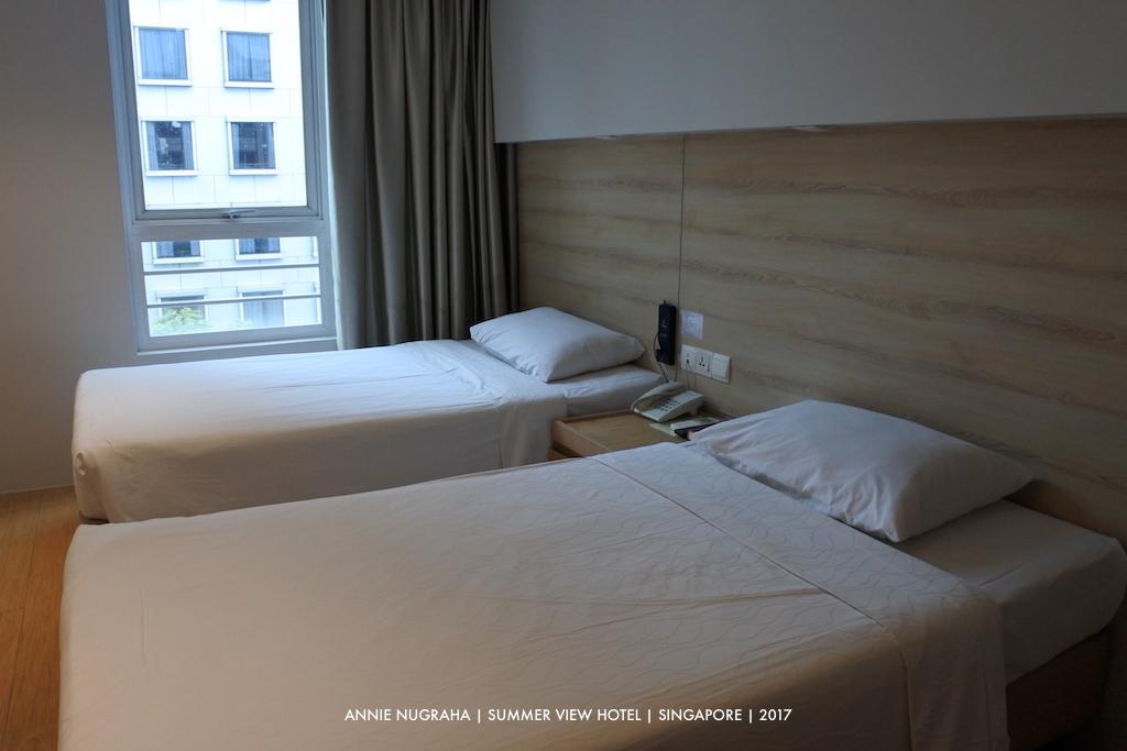 SUMMER VIEW HOTEL | Hotel Minimalis Kualitas Maksimal di Bencoolen SINGAPORE