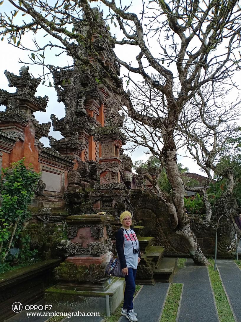 Pura TAMAN SARASWATI | Pura Cantik Dengan Ratusan Bunga Teratai di Ubud, BALI