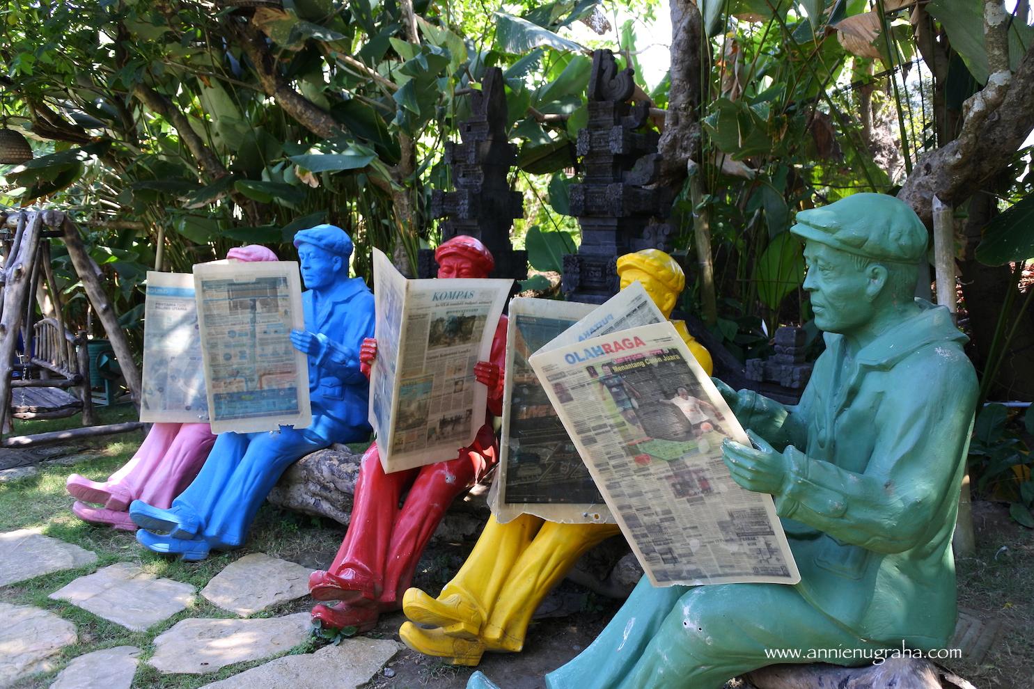 BIG GARDEN CORNER  Wisata Kaya Ragam dan Istagramable di Sanur
