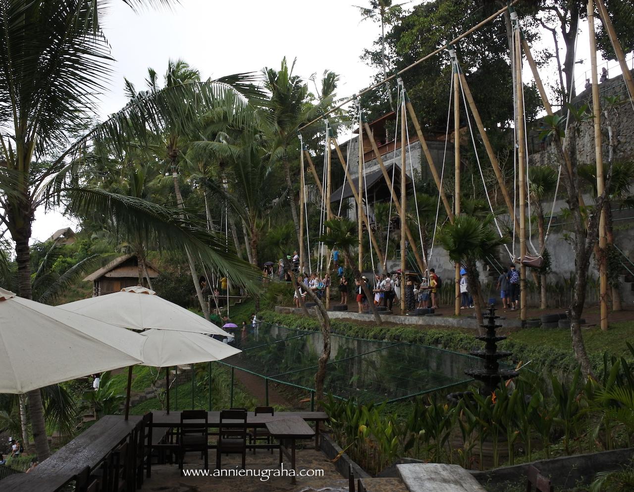Bali Swing Wahana Berayun Di Pinggir Tebing Wisata