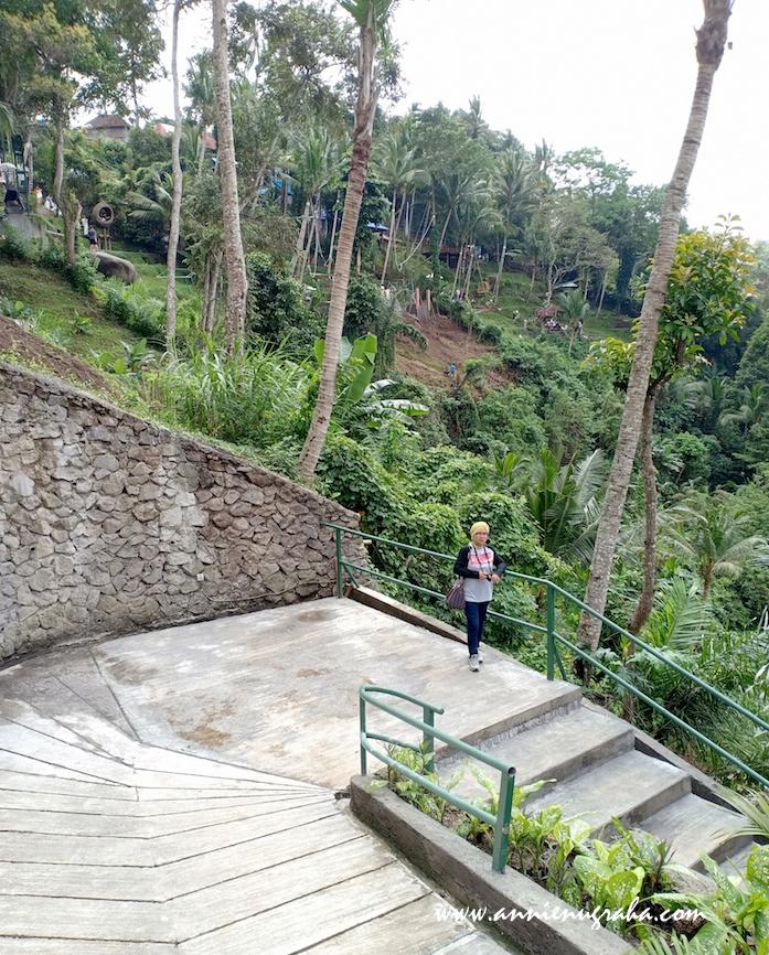 BALI SWING. Wahana Berayun di Pinggir Tebing. Wisata Kekinian di Banjar Tegal Kuning, Ubud, BALI