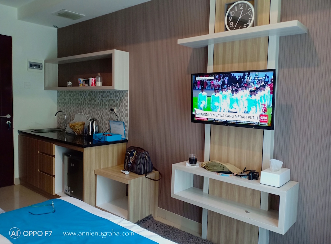 One Night Staycation via Airy Rooms di Appartel (Apartemen dan Hotel) TAMAN MELATI Jatinangor
