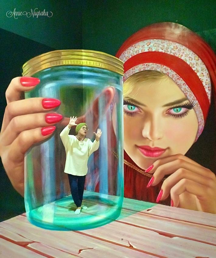 Magic Art 3D Museum.  Wahana Wisata Photography yang Meramaikan Kawasan Wisata Kota Tua, Jakarta.