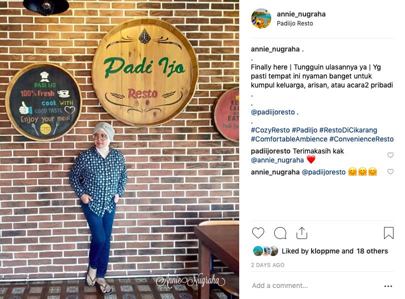 Menikmati Nuansa Cozy di Resto PADI IJO | Cibarusah | Cikarang