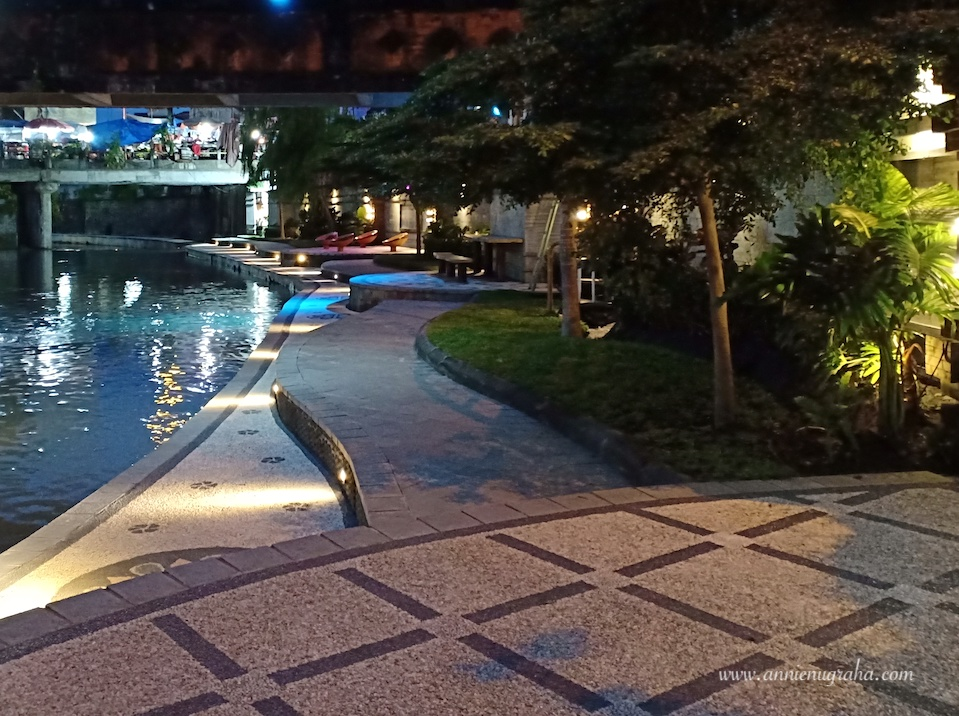 Taman KUMBASARI.  River Walk Cantik di Tengah Kota Denpasar, BALI