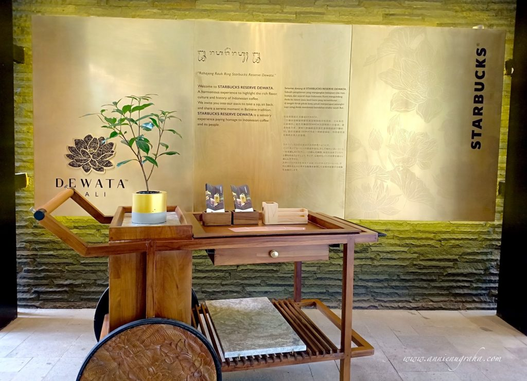 Starbucks Reserve Dewata. Coffee Sanctuary Kaya Kenyamanan di Bali