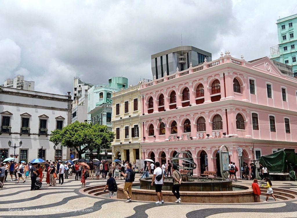 Pengalaman Sangat Berkesan di Senado Square Macao