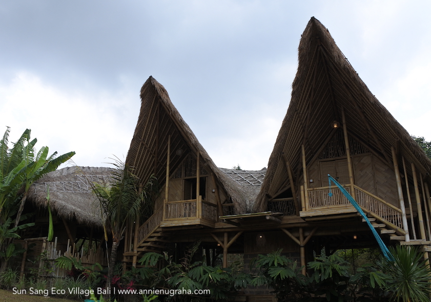 Berkunjung ke Sun Sang Eco Village di Kerambitan, Tabanan, Bali.  Mendekat ke Alam dan Mencintai Bumi.