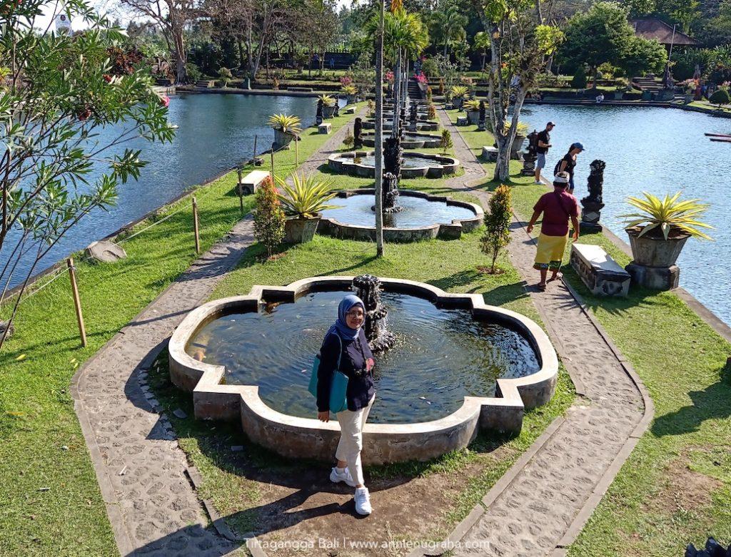 TIRTAGANGGA Water Palace. Jejak Asri di Relung Karangasem