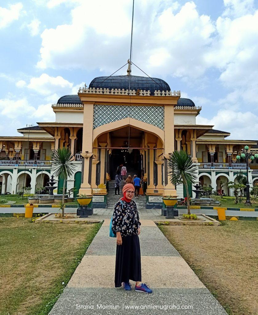 ISTANA MAIMUN. Jejak Kejayaan Kesultanan Deli di Kota Medan