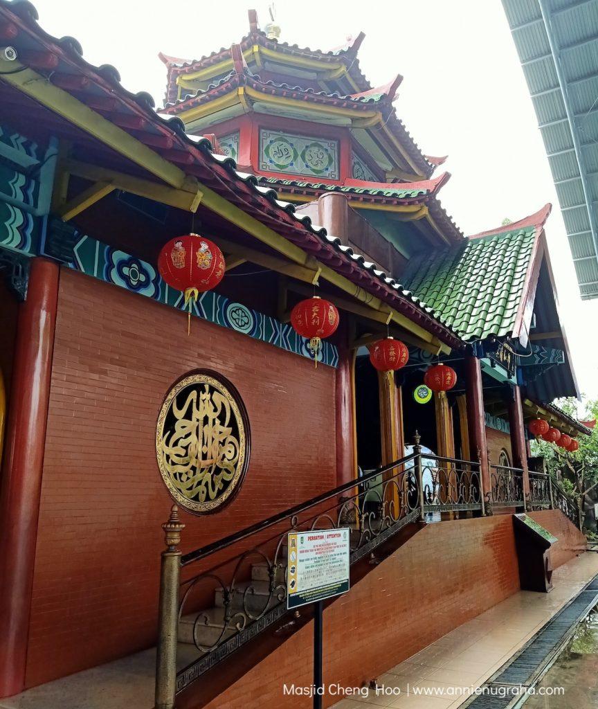 Merah, Hijau, dan Kuning di Masjid H. Muhammad Cheng Hoo Surabaya