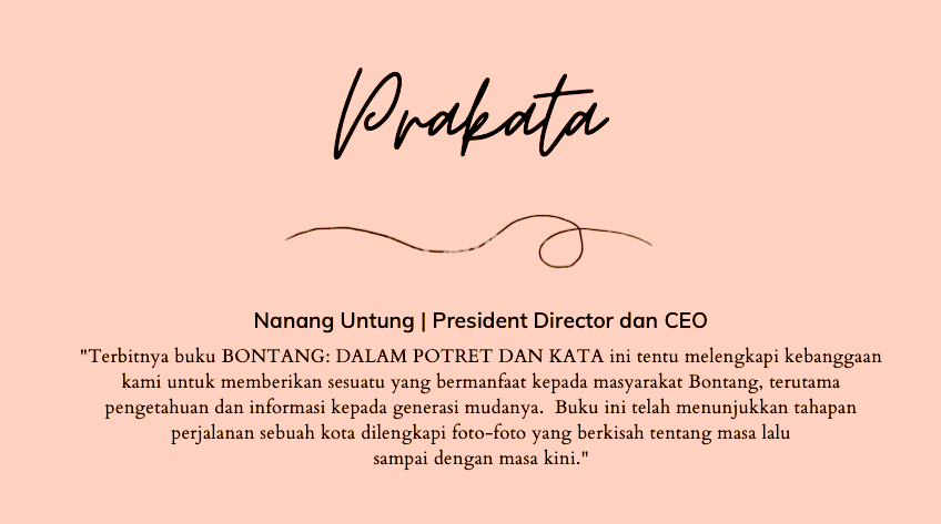 BONTANG Dalam Potret dan Kata.  Khazanah Literasi Sejarah Sebuah Kota di Kalimantan Timur