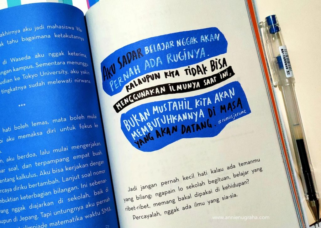 Belajar Memaknai Arti KEGIGIHAN dari Seorang Jerome Polin. Sebuah Review dari Buku Latihan Soal Mantappu Jiwa.