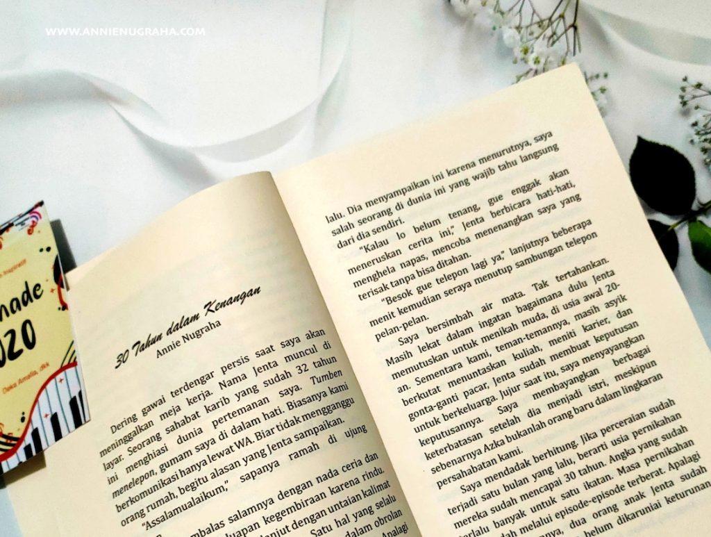 SERENADE 2020. Mendalami 46 Kisah Inspiratif dari Para Penulis Writerpreneur Club.