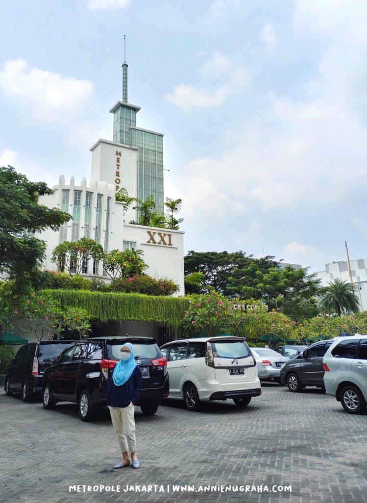 Beranjangsana ke Cagar Budaya Legendaris Metropole Megaria Jakarta