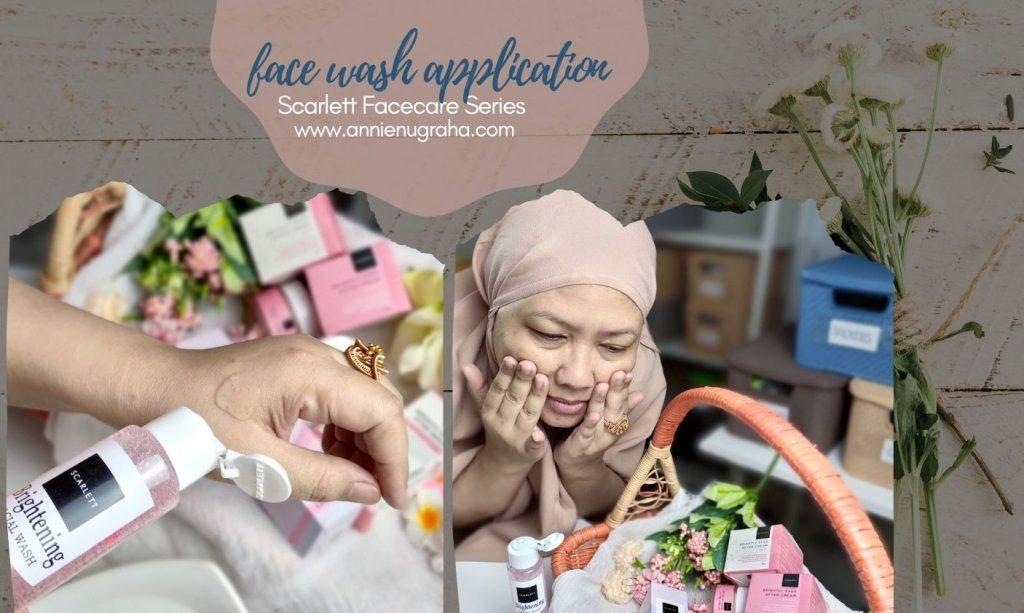 Merawat Kesehatan Kulit Wajah di Usia Keemasan Bersama SCARLETT Brigthly Facecare Series