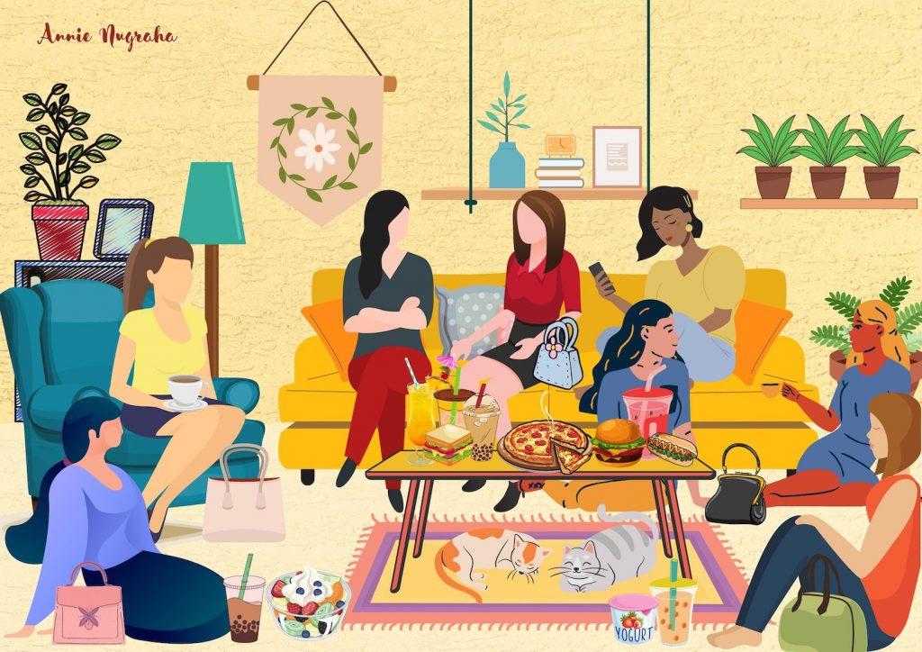 TETANGGA KOK GITU. Kisah Dinamika Hidup Bertetangga yang Penuh Warna Dalam Sebuah Buku