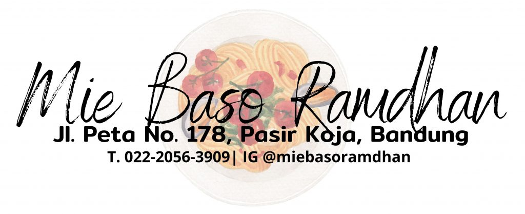 Menikmati Salah Satu Mie Yamin Terenak di Mie Baso Ramdhan, Pasir Koja, Bandung